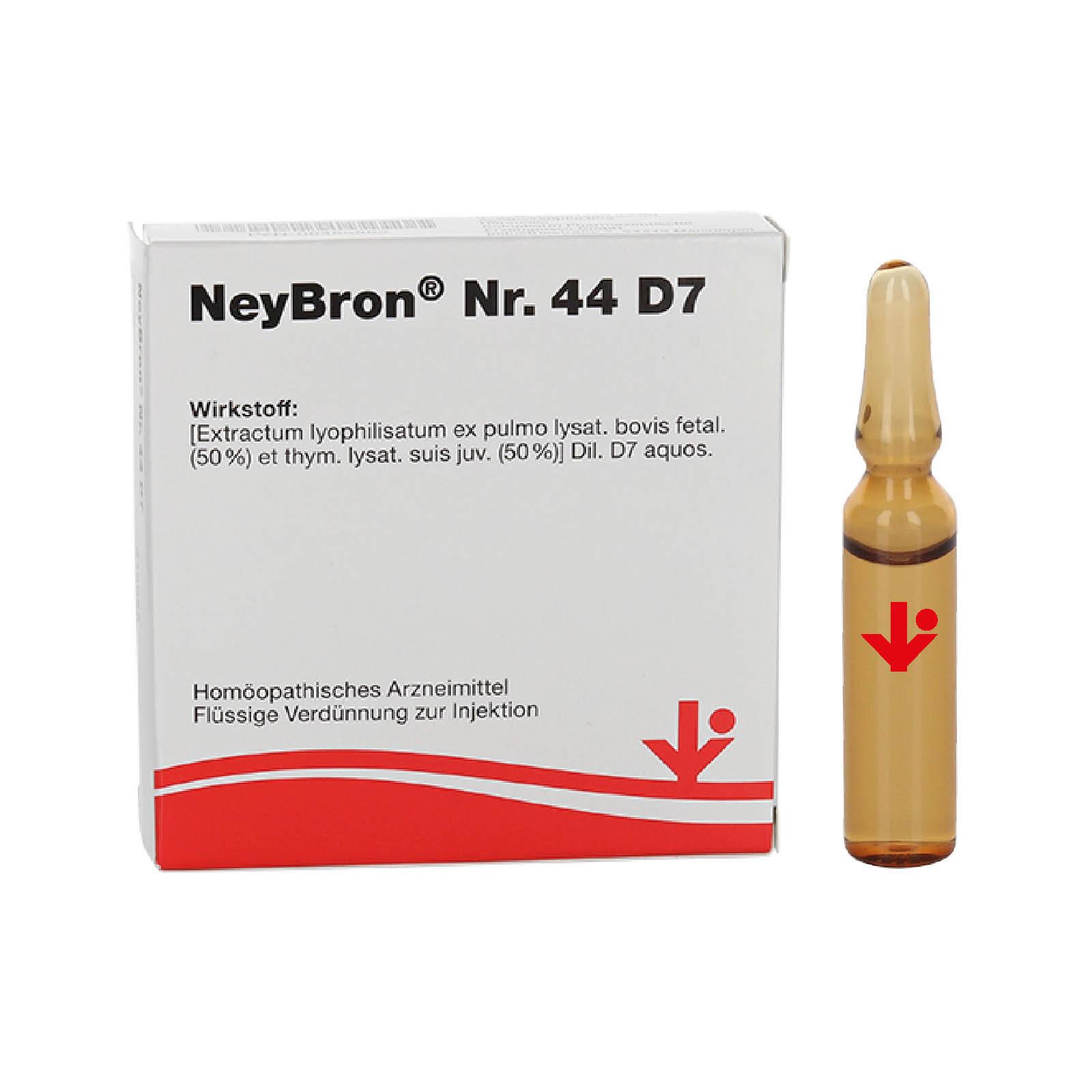 NeyBron® Nr. 44 D7 (früher NeyBronchin® genannt)